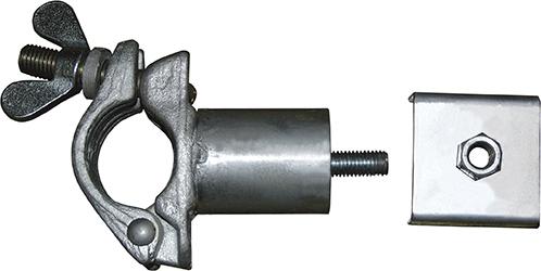 Krause Rollgerüst Ballasthalter für zwei Ballastgewichte