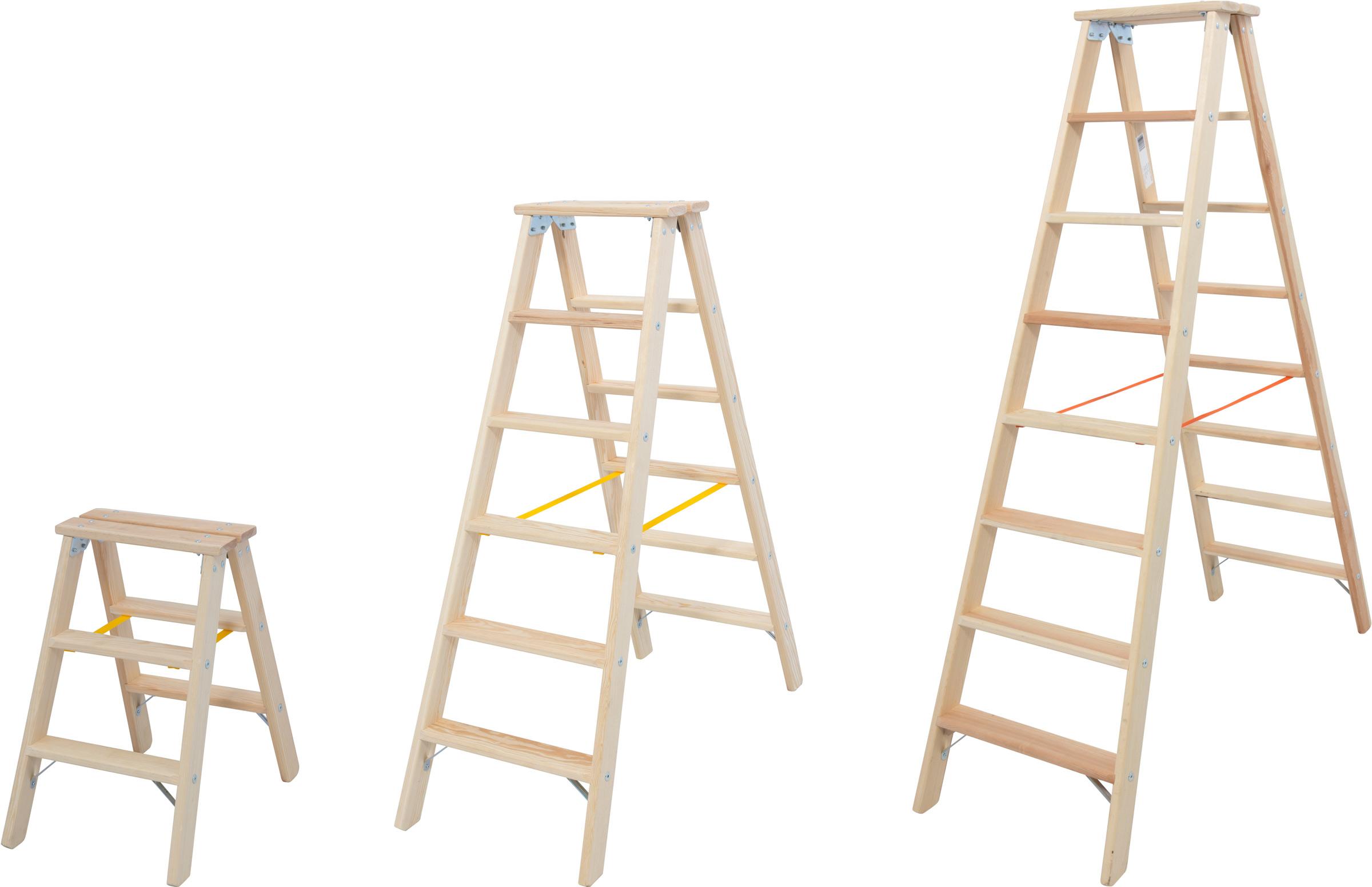 Krause Holz-Stufendoppelleiter
