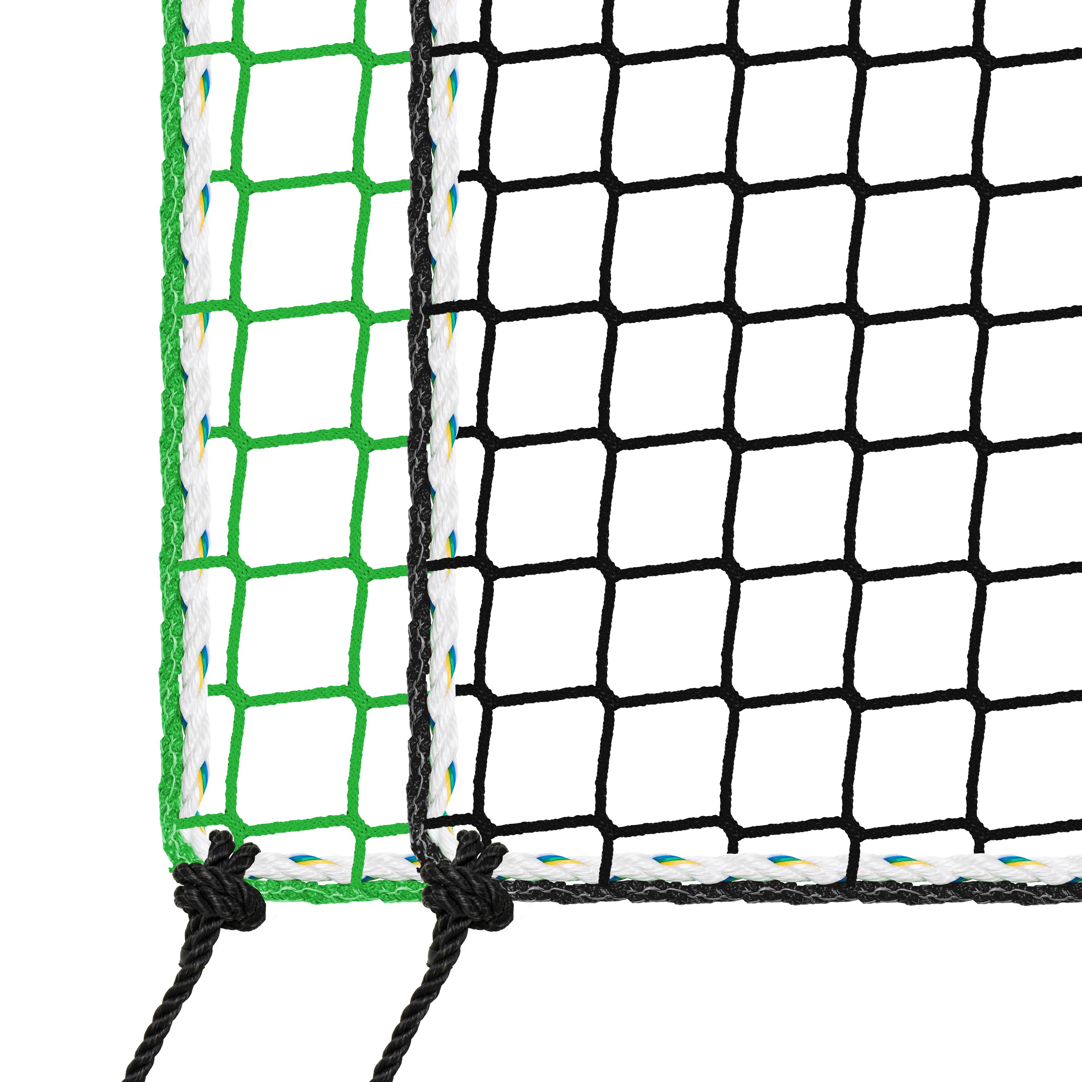 Auffangnetz mit Aufhängeseilen