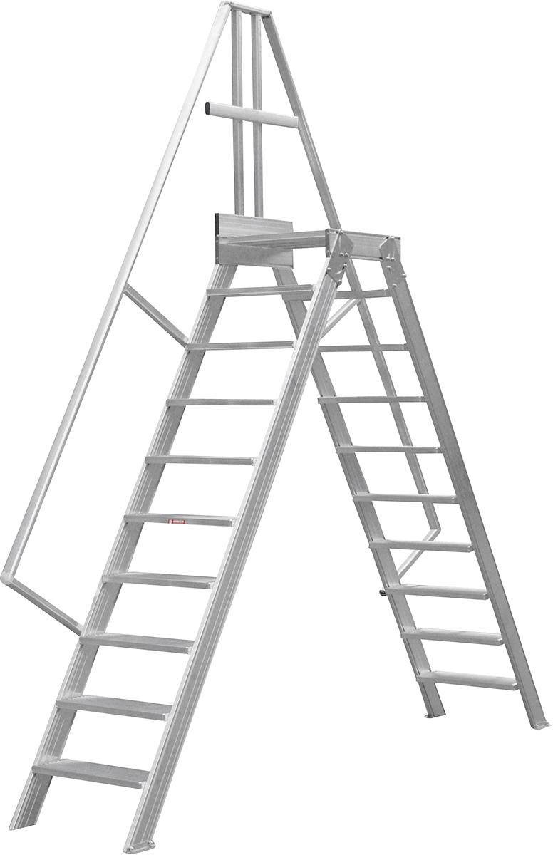 Hymer Überstieg 60° 10 Stufen - 600 mm
