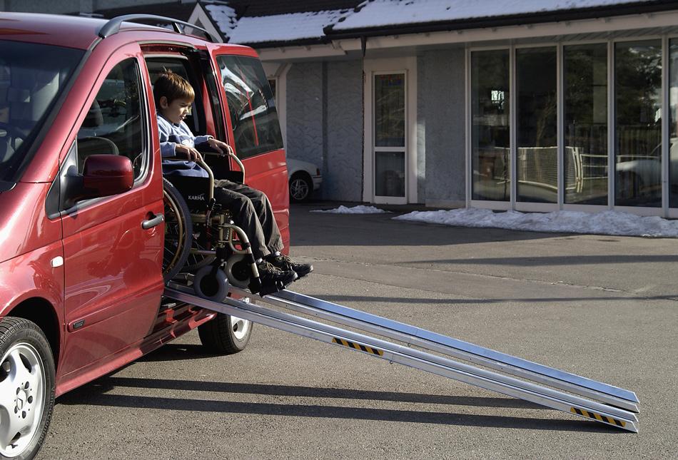 Altec Rollstuhlrampe RAS-F