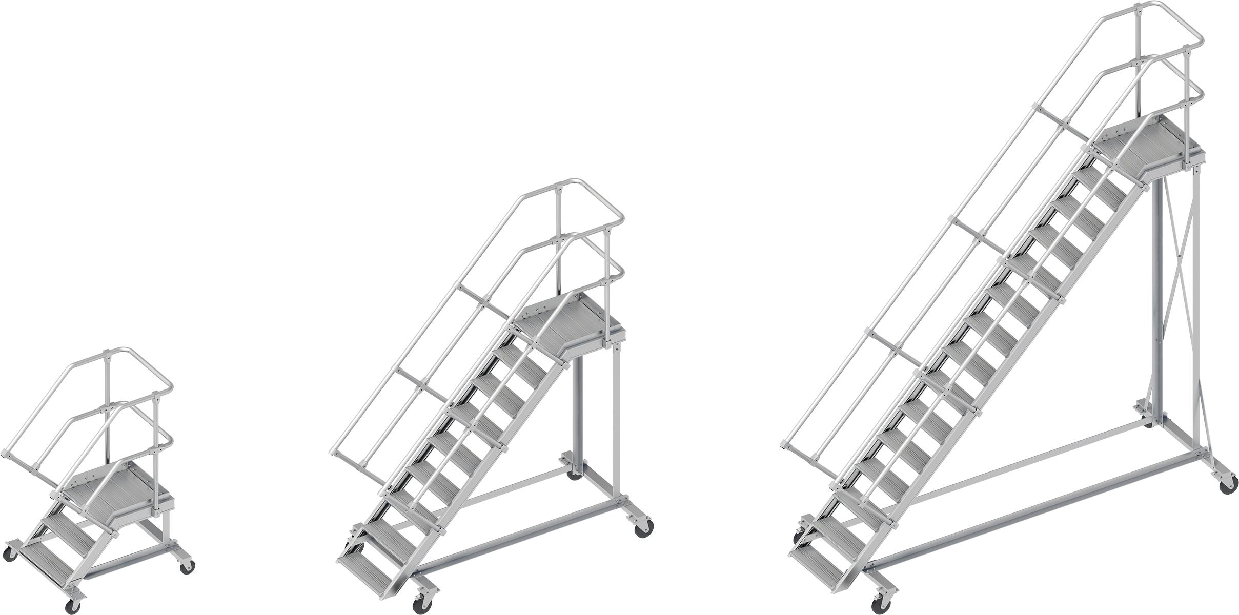 Layher Alu-Wartungsbühne 45° - 600 mm breit