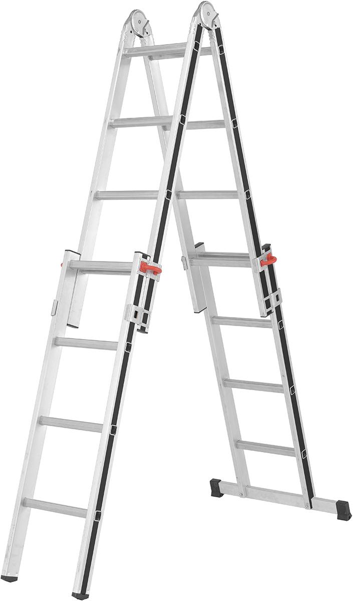 Hymer Alu-Pro Teleskopleiter 4x4 - 4x5 Sprossen