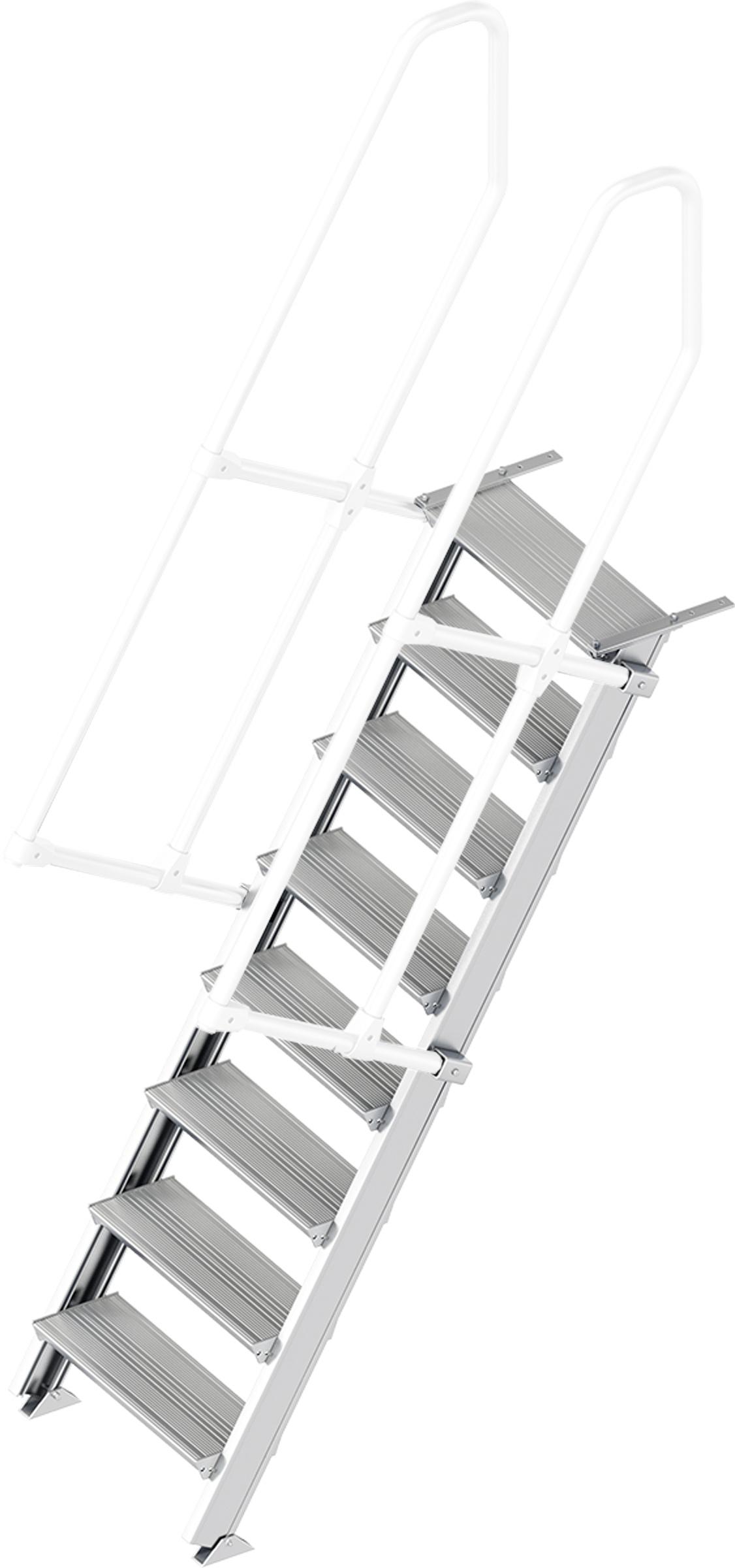 Layher Treppe 60° 8 Stufen - 600 mm breit