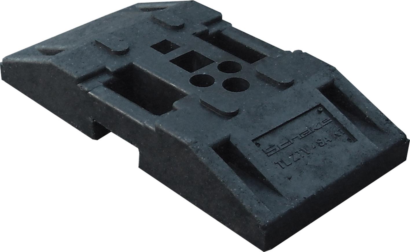 Schake TL-Fußplatte nach K1 - 750 x 380 x 130 mm