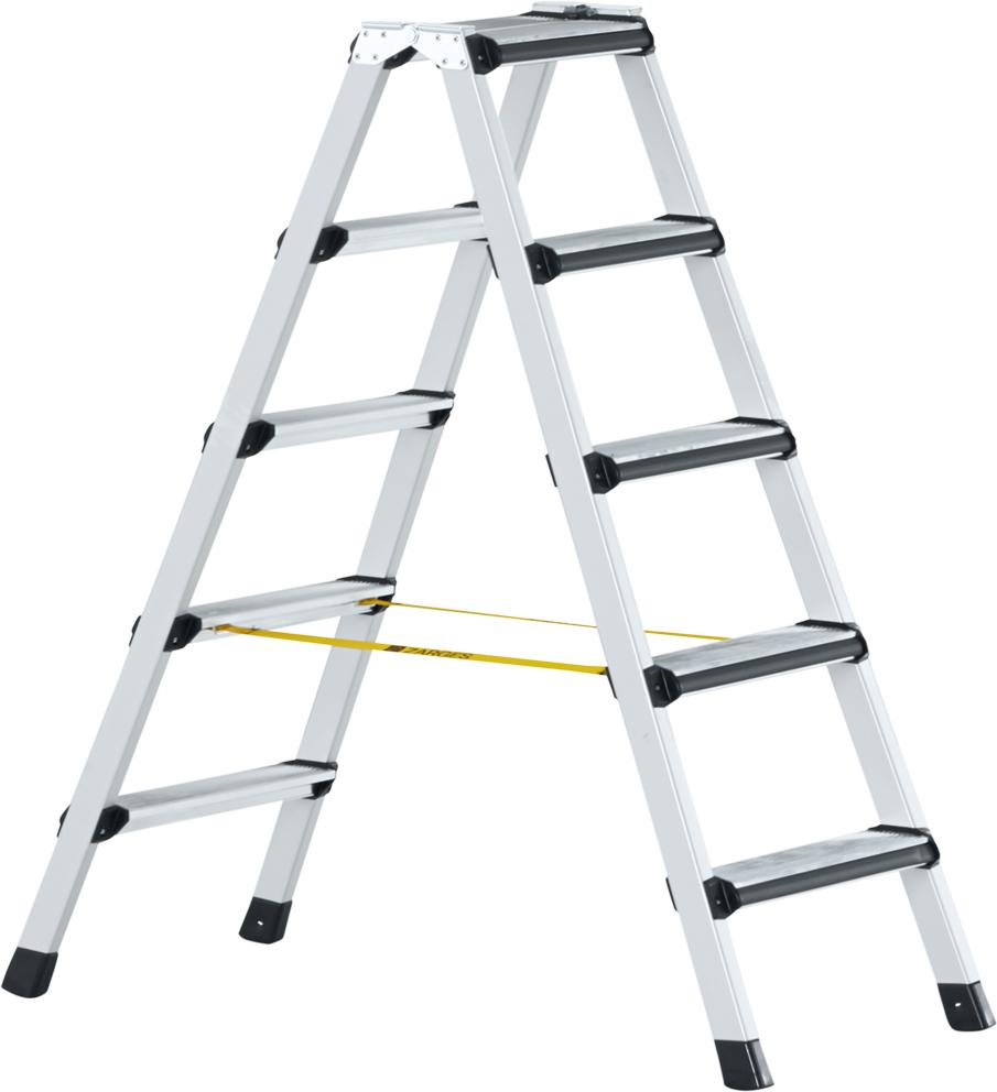 ZARGES Stufen Stehleiter Comfortstep B - 2x3 Stufen