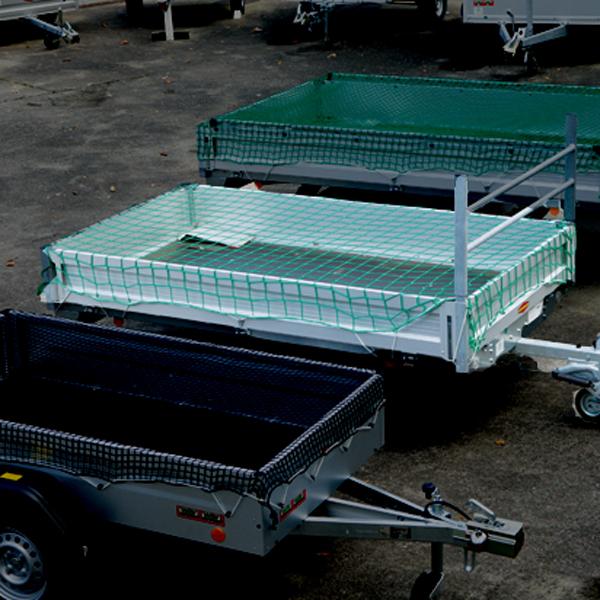 Huck Anhängernetz MW 100 | Ø 4,0 mm SP - 3,00 x 4,00 m grün