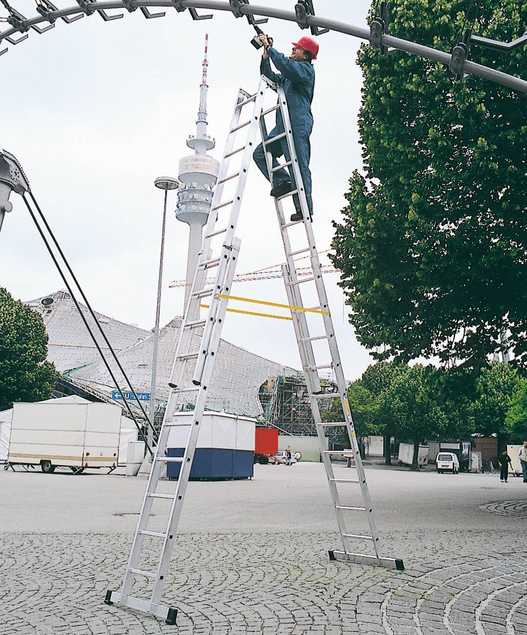 ZARGES Leiter Stehleiter Vario B - 4x8 Sprossen