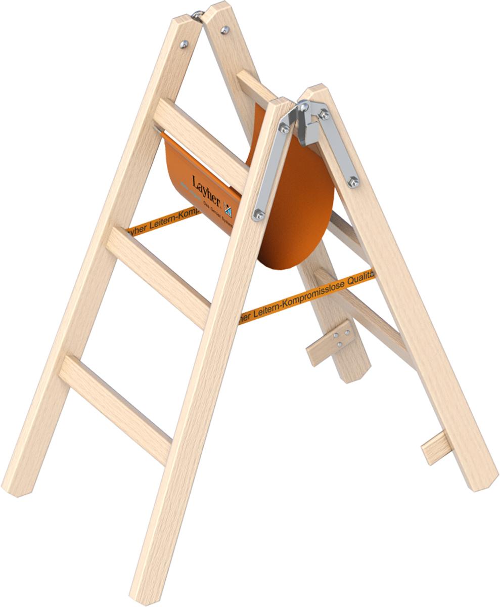 Zu unserer Stehleiter aus Holz