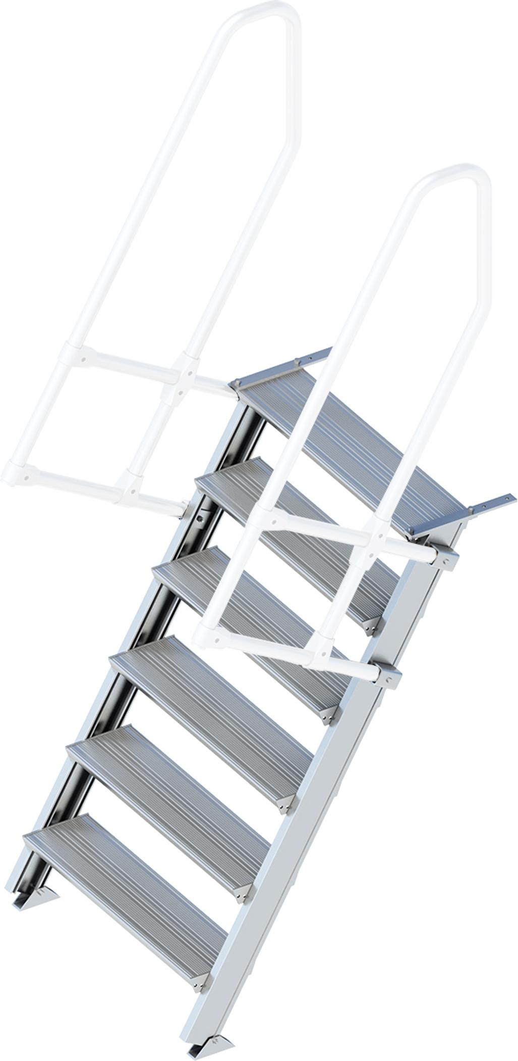Layher Treppe 60° 6 Stufen - 800 mm breit