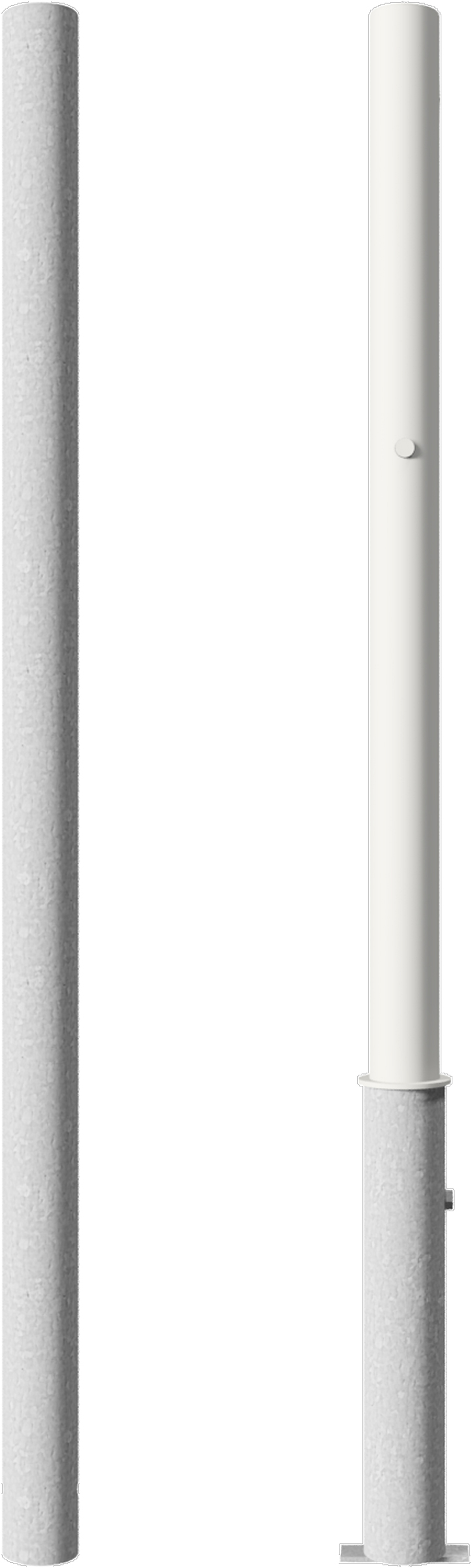 Schake Edelstahlpfosten Ø 60 mm