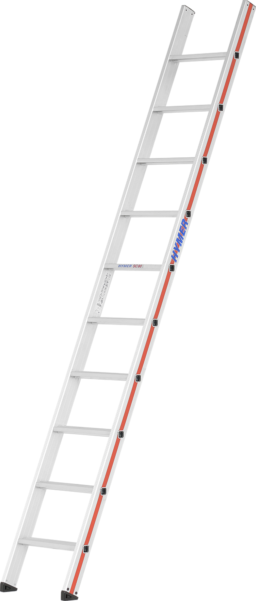 Hymer Anlegeleiter SC 80 Alu 10 Stufen