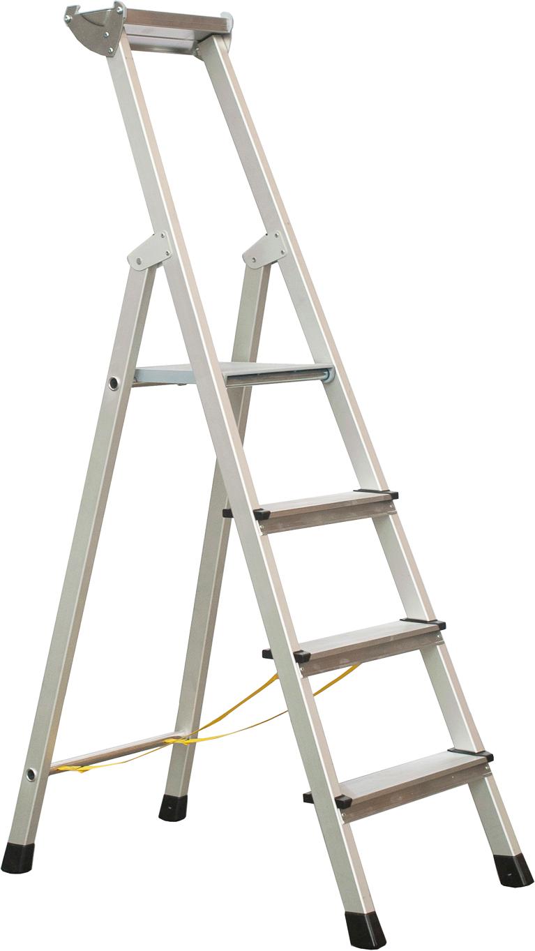 ZARGES Stufen Stehleiter XLstep S - 4 Stufen
