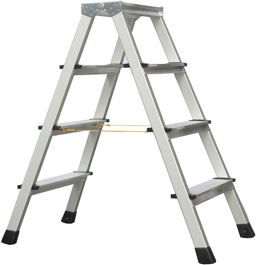 ZARGES Stufen Stehleiter XLstep B - 2x4 Stufen
