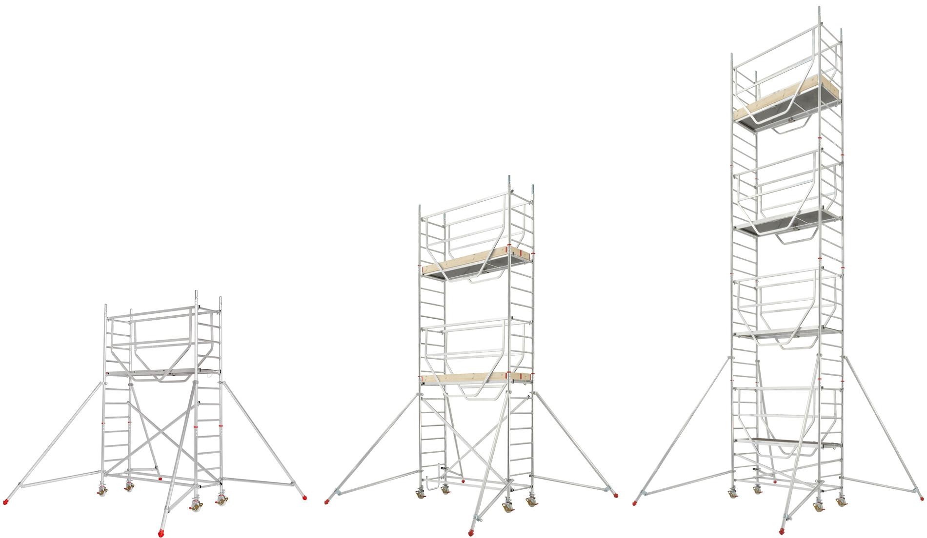 Hymer Fahrgerüst ADVANCED SAFE-T 0,72 x 2,08 m