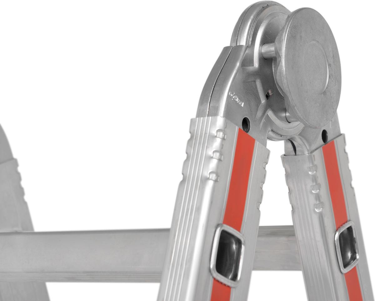 Hymer Teleskopleiter mit Auslegern SC 80 Alu 4x4 Sprossen