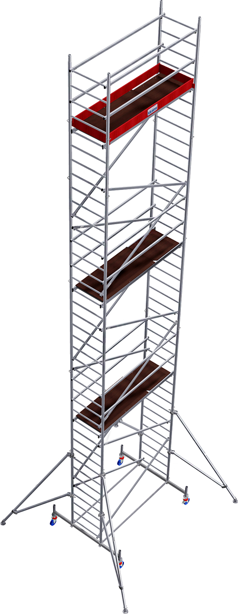Rollgerüst Krause Monto ProTec 0,70x2,00m - AH 11,30m