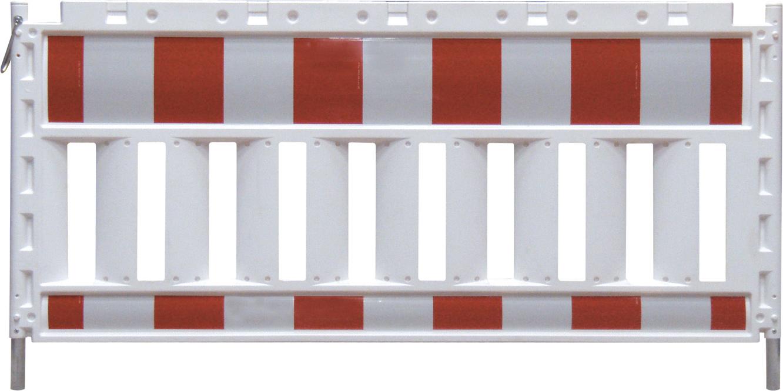Schake Euro Schrankenzaun mit Folie Typ RA1|A ohne Lampenadapter 1,20 m