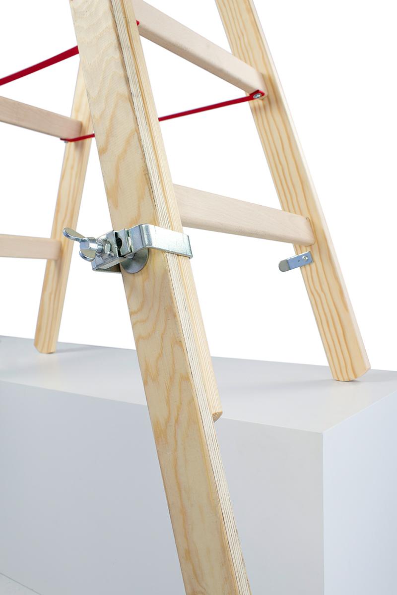 Hymer Fußverlängerung für Holz-Sprossenstehleitern