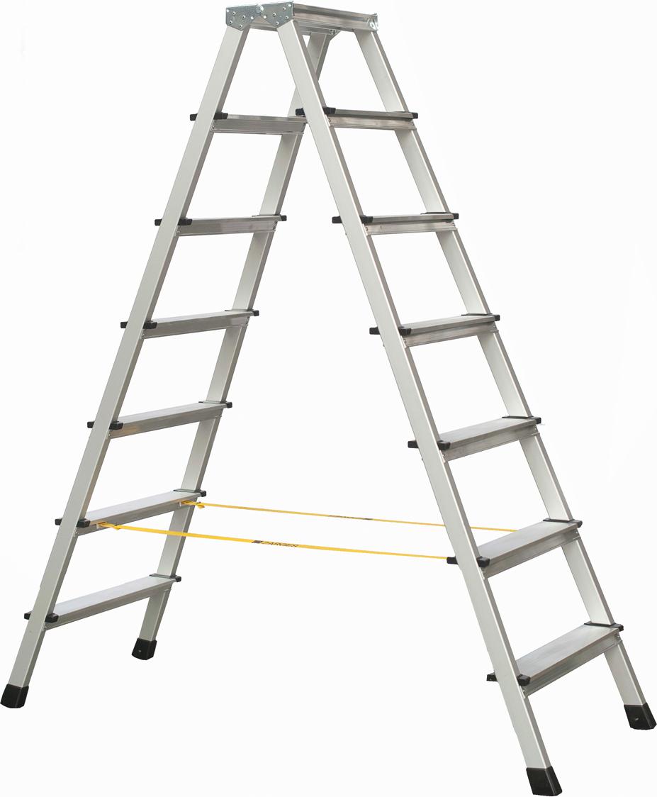 ZARGES Stufen Stehleiter XLstep B - 2x7 Stufen