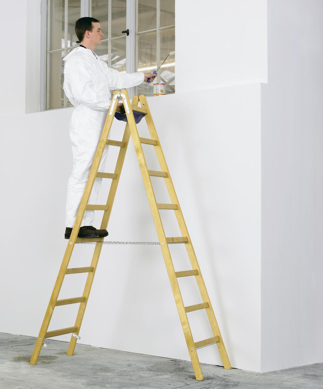 ZARGES Leiter Stehleiter Crestamax B - 2x4 Sprossen