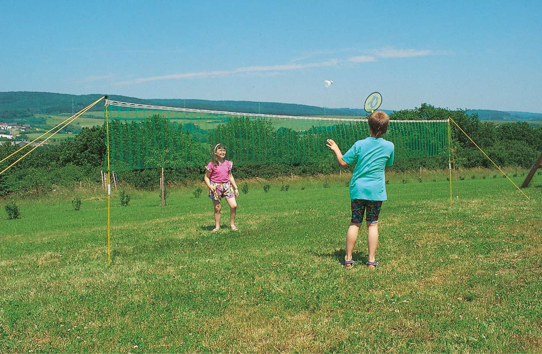 Huck Badminton Set Einsteiger - Netzgröße 6,00 x 0,70 m