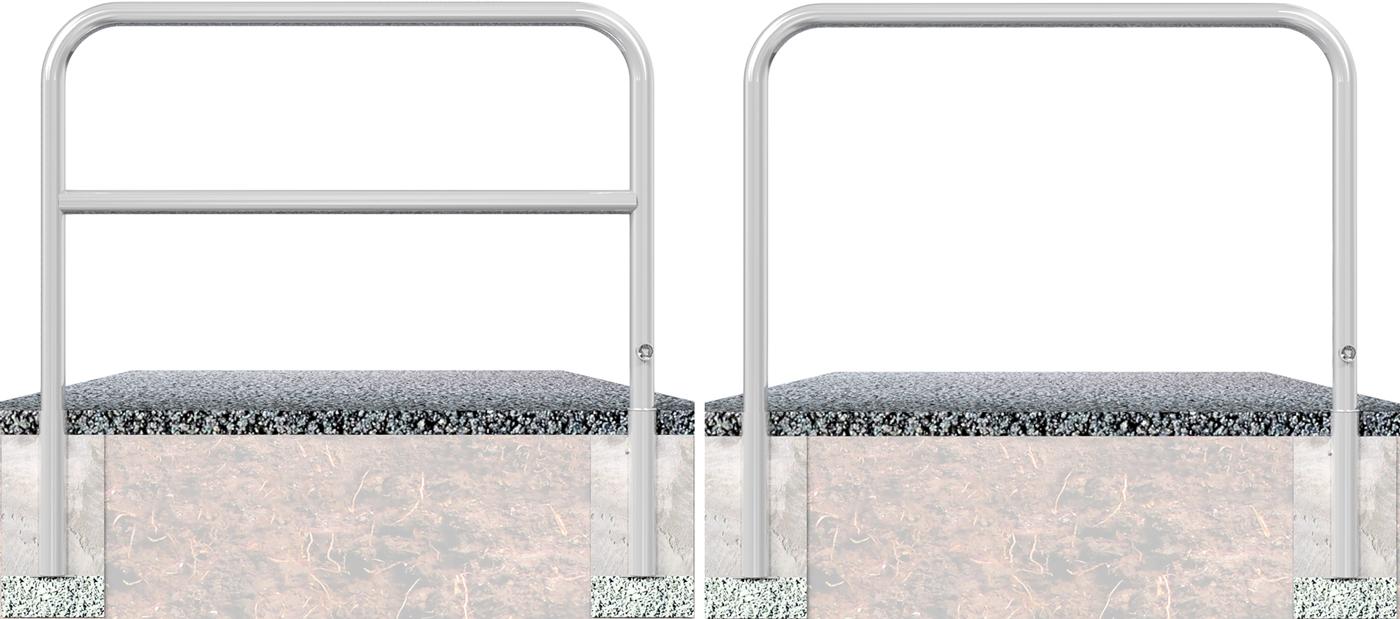 Schake Wegesperre Stahl Ø 60 mm verzinkt