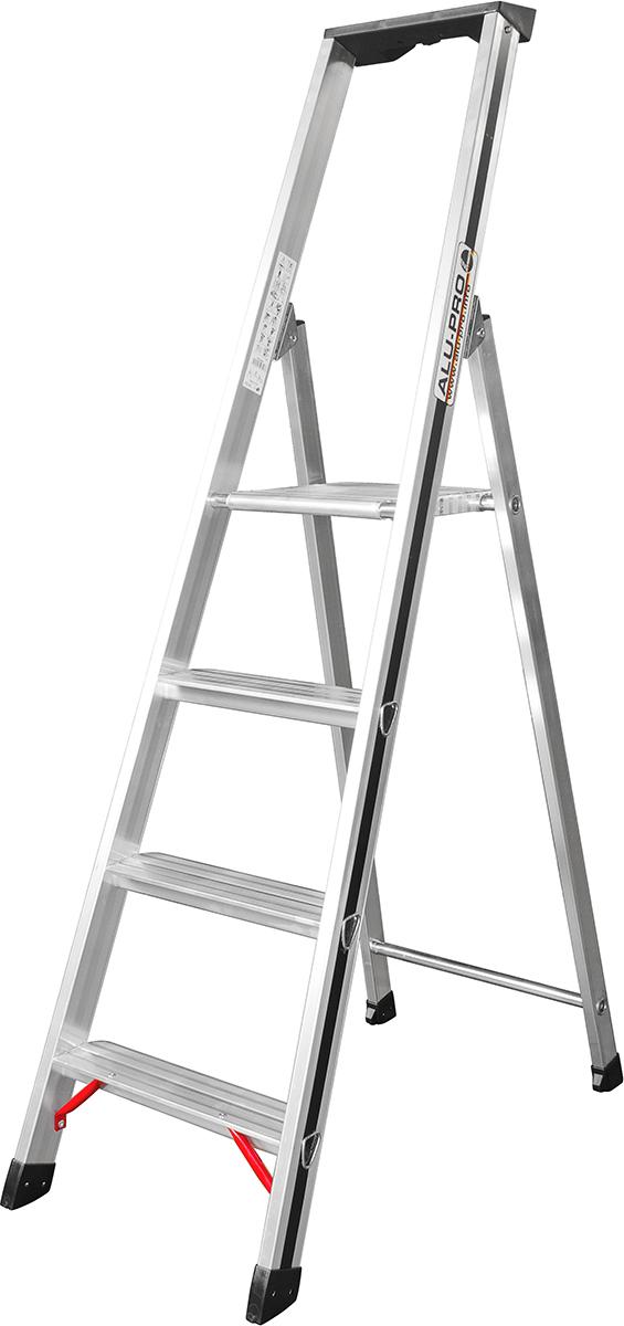 Hymer Alu-Pro Stehleiter 4 Stufen