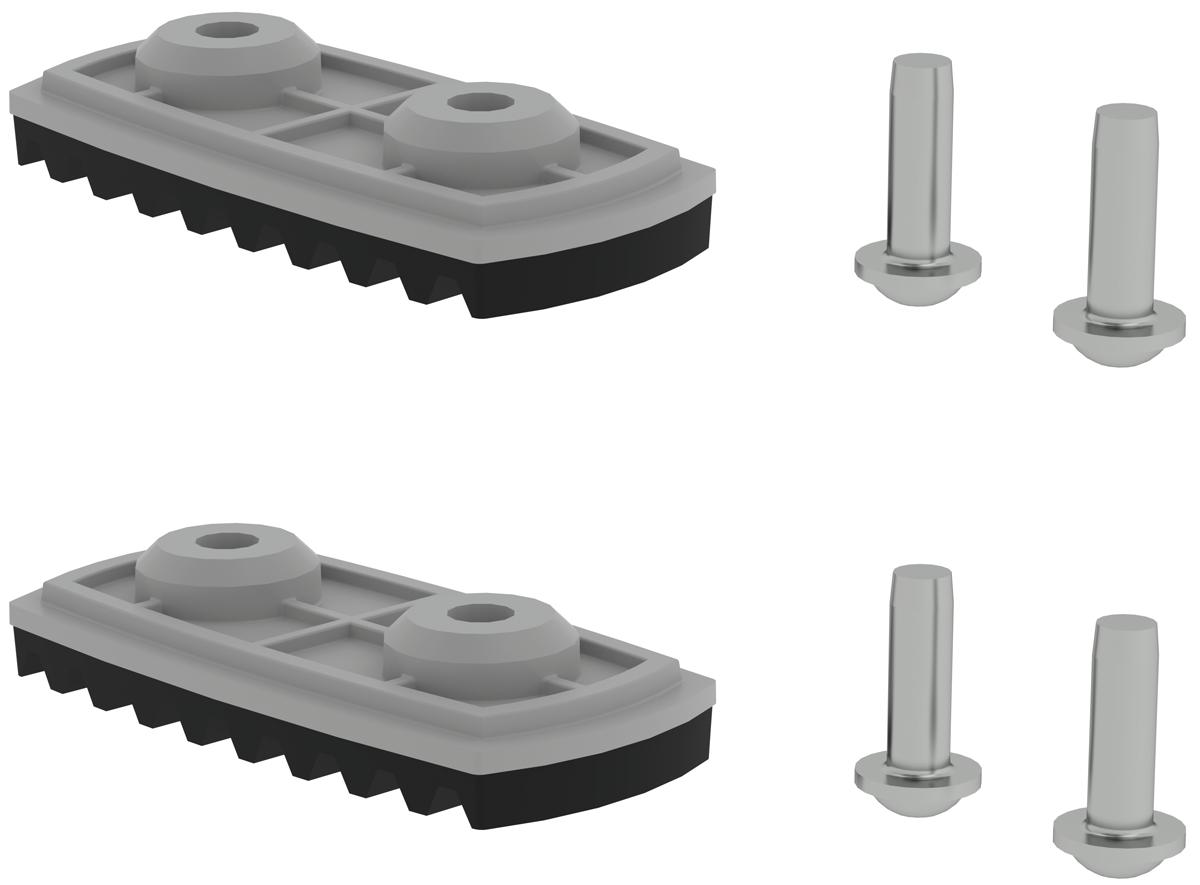 Günzburger nivello ®-Fußplatte Standard 58 mm | 73 mm