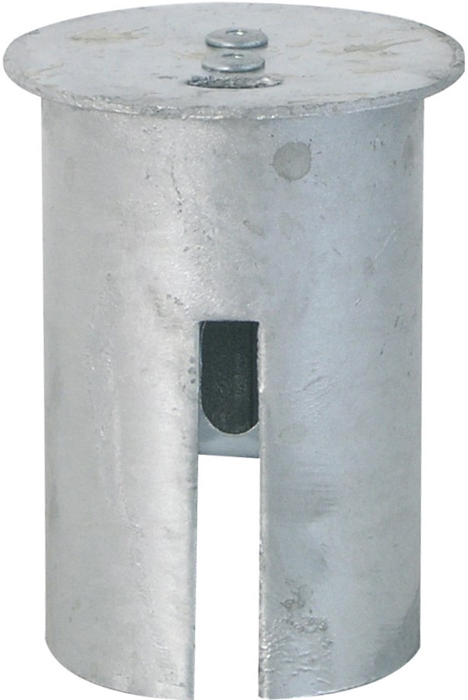 Schake Abdeckkappe mit Verschluss für Ø 76 mm Pfosten