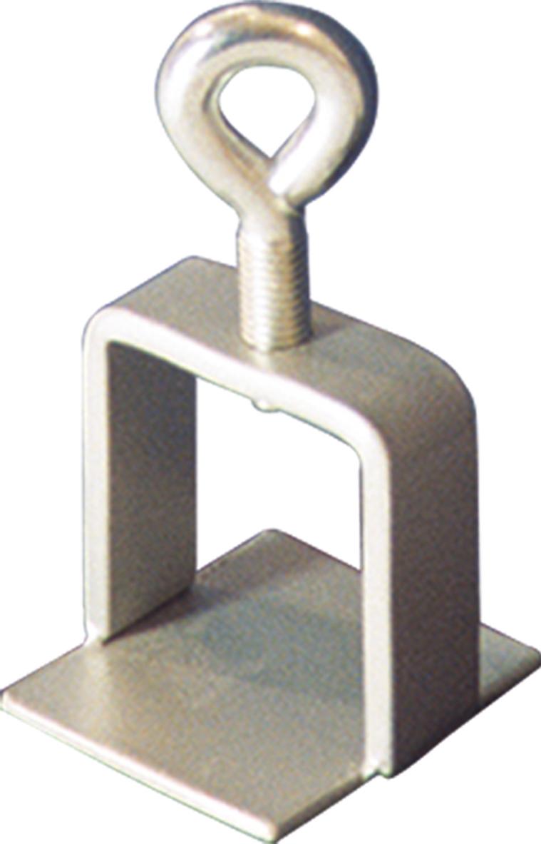 Schake Schilderklemme Stahl