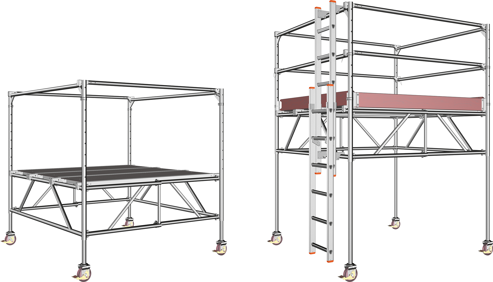 fahrbare ger ste online kaufen hawego. Black Bedroom Furniture Sets. Home Design Ideas
