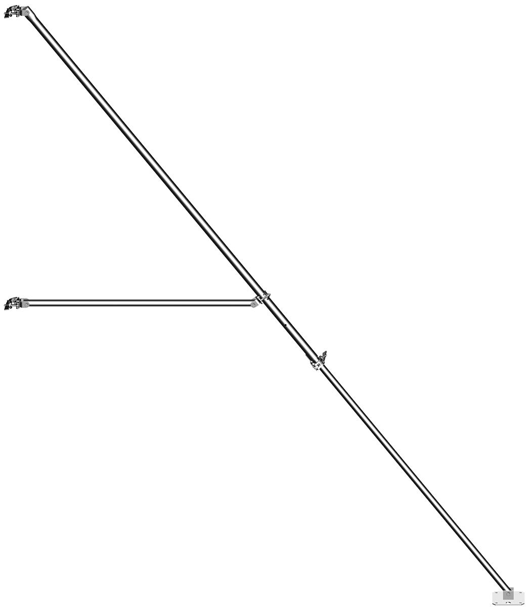 Layher Stahl-Gerüststütze