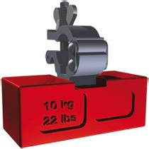 ZARGES Rollgerüst Ballastgewicht 10 kg Quader