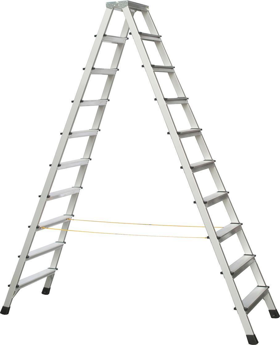 ZARGES Stufen Stehleiter XLstep B - 2x10 Stufen