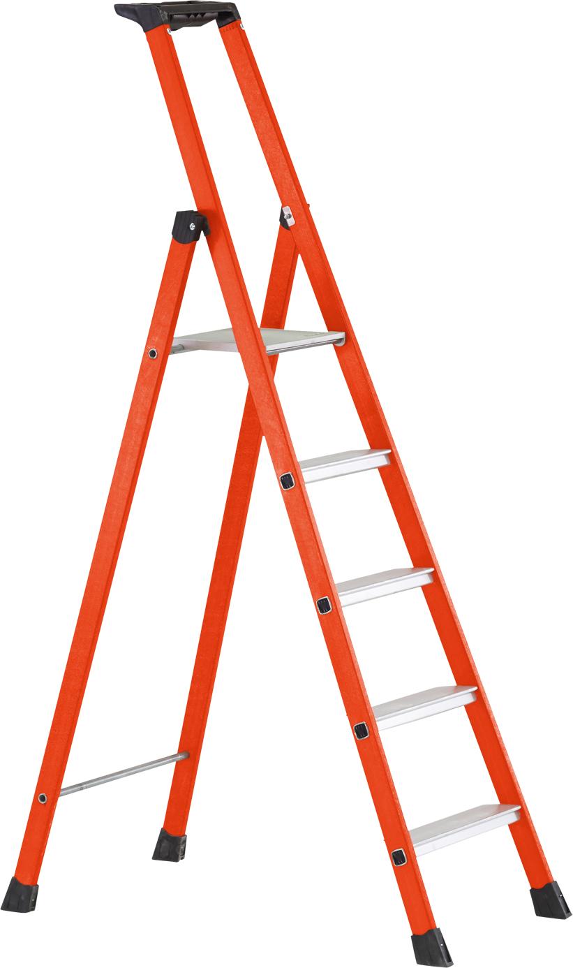 ZARGES Stufen Stehleiter EFAmix S - Stufen