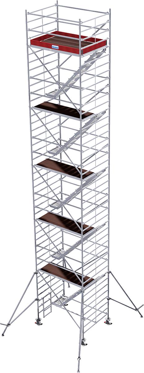 Fahrgerüst Krause Treppengerüst Stabilo Serie 5500 - 1,50x2,00m - AH 12,50m