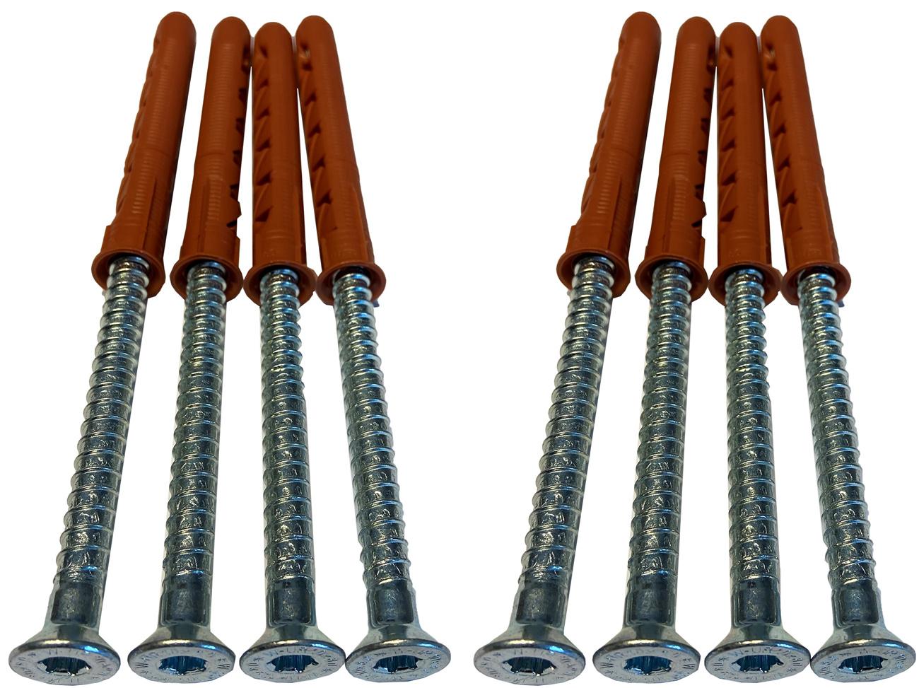 Schake Befestigungsschraubensatz Typ 1.2 - M10 x 80 mm