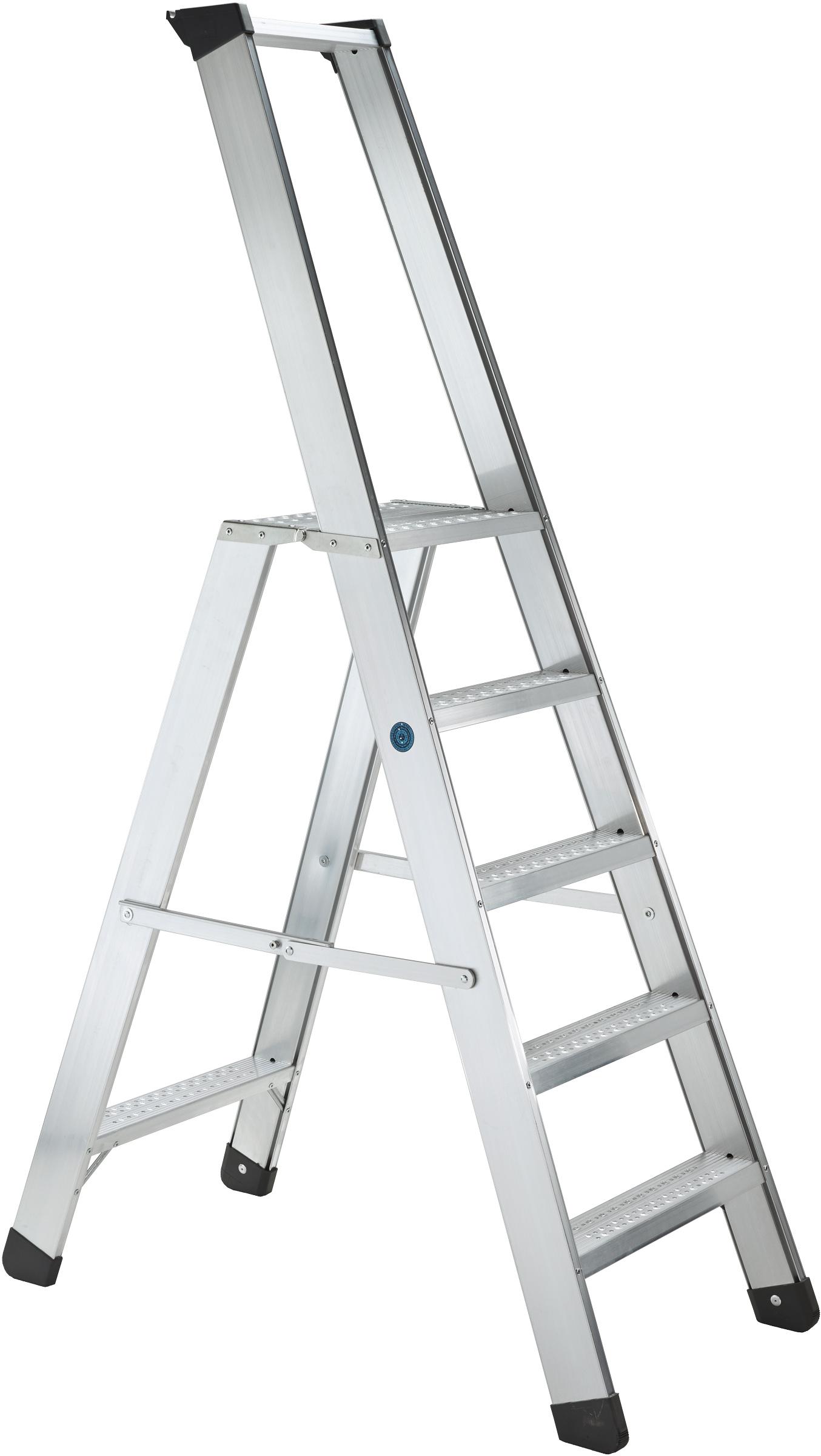 ZARGES Stufen Stehleiter Seventec RC S - 4 Stufen