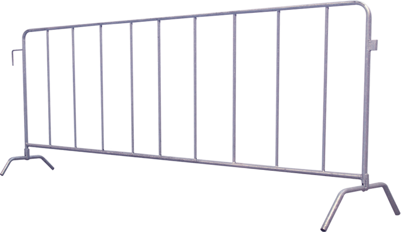 Schake Absperrgitter Typ L 2,50 m - Set 20 Stück