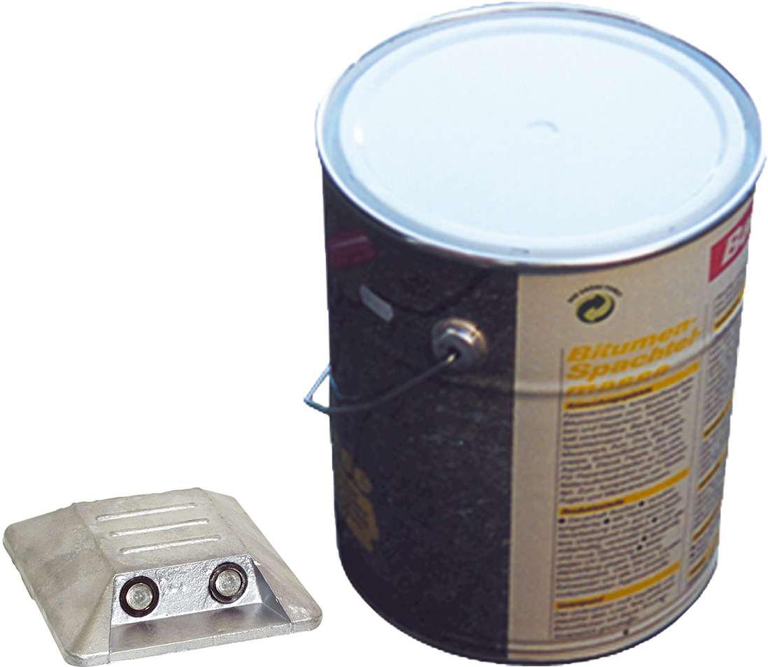 Schake Alumarkierungsnagel 100 x 100 mm - hawego Set