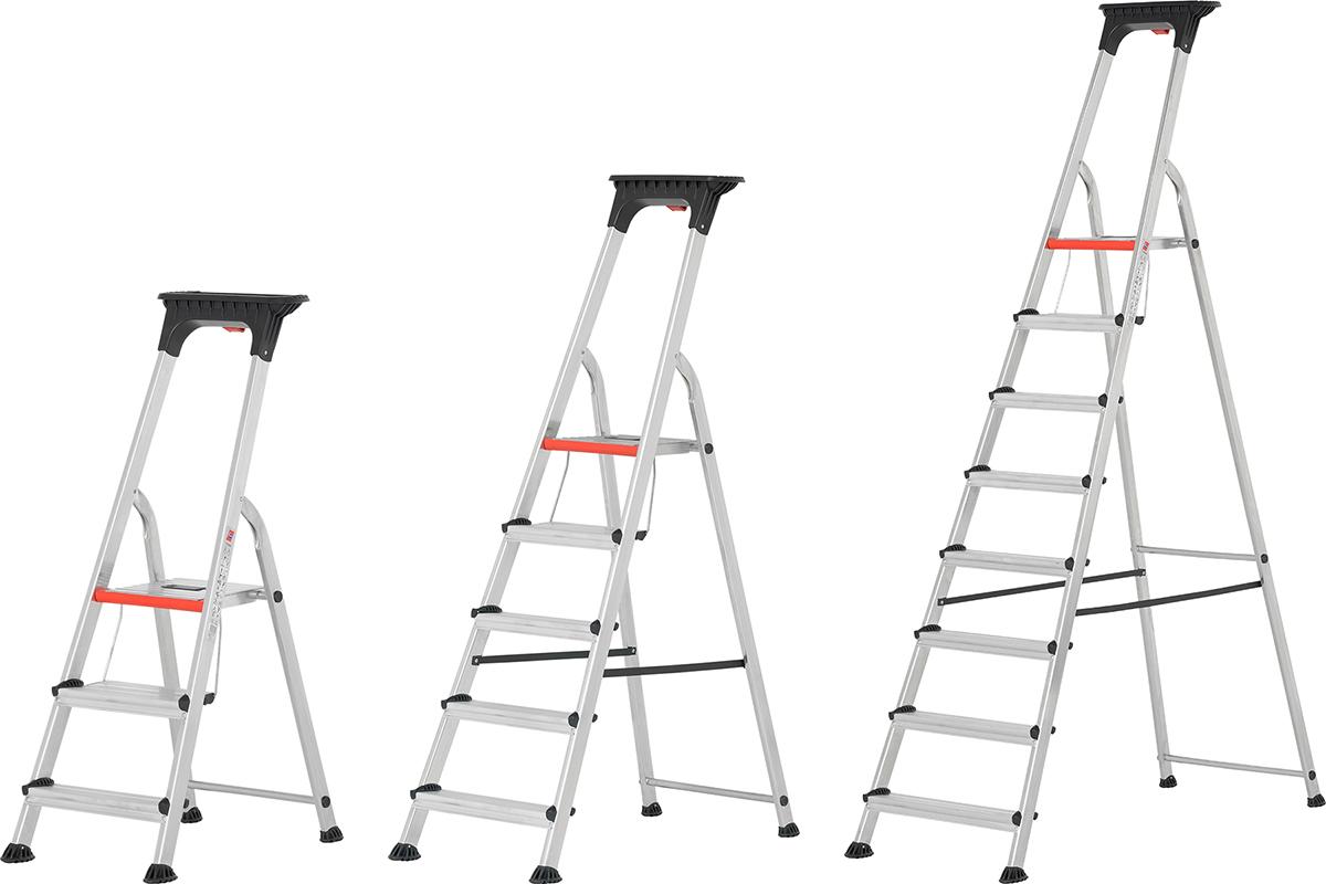 Hymer Alu-Pro Stehleiter 3 - 8 Doppelstufen