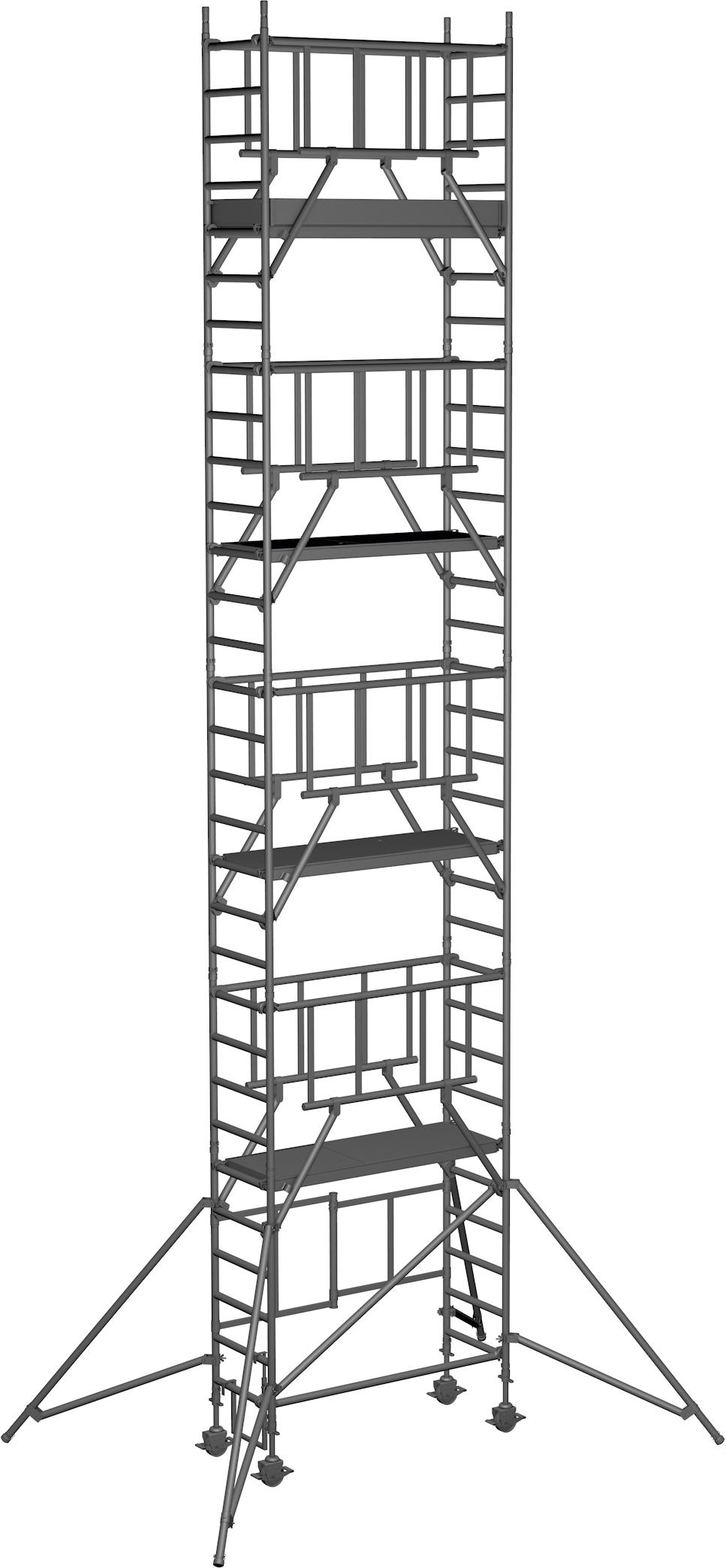 Klappgerüst ZARGES Reachmaster S-PLUS 1T - AH 9,85m