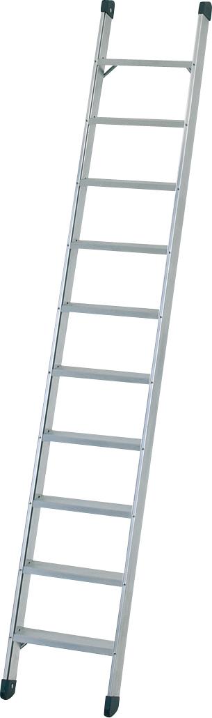 ZARGES Leiter Anlegeleiter Seventec L - 10 Stufen