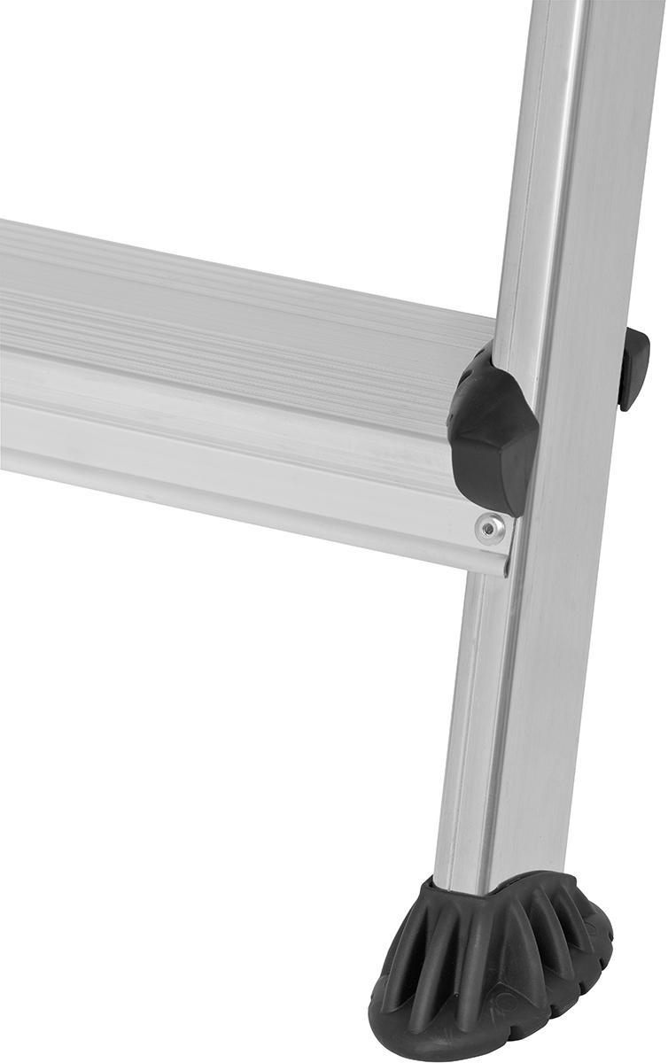 Hymer Alu-Pro Stehleiter 5 Doppelstufen