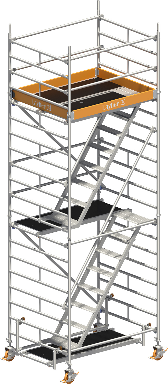 layher uni komfort alu fahrger st 4202 ls 4202 hawego. Black Bedroom Furniture Sets. Home Design Ideas