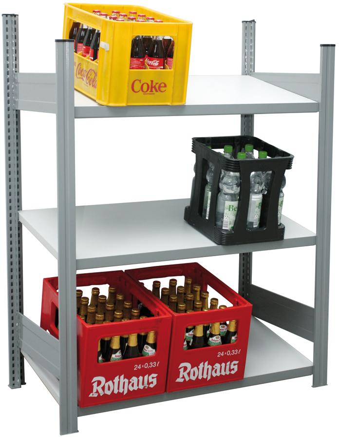 Regalwerk Getränkekistenregal - Regalfeld