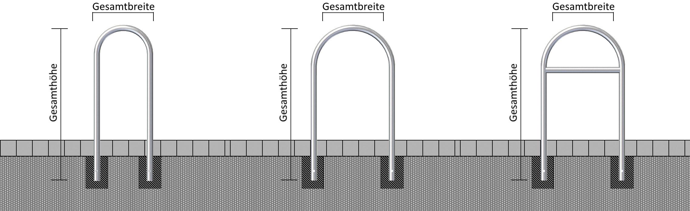 Schake Rundbügel Stahl Ø 48 mm verschiedene Ausführungen (SK-C-448.046) Bild-01