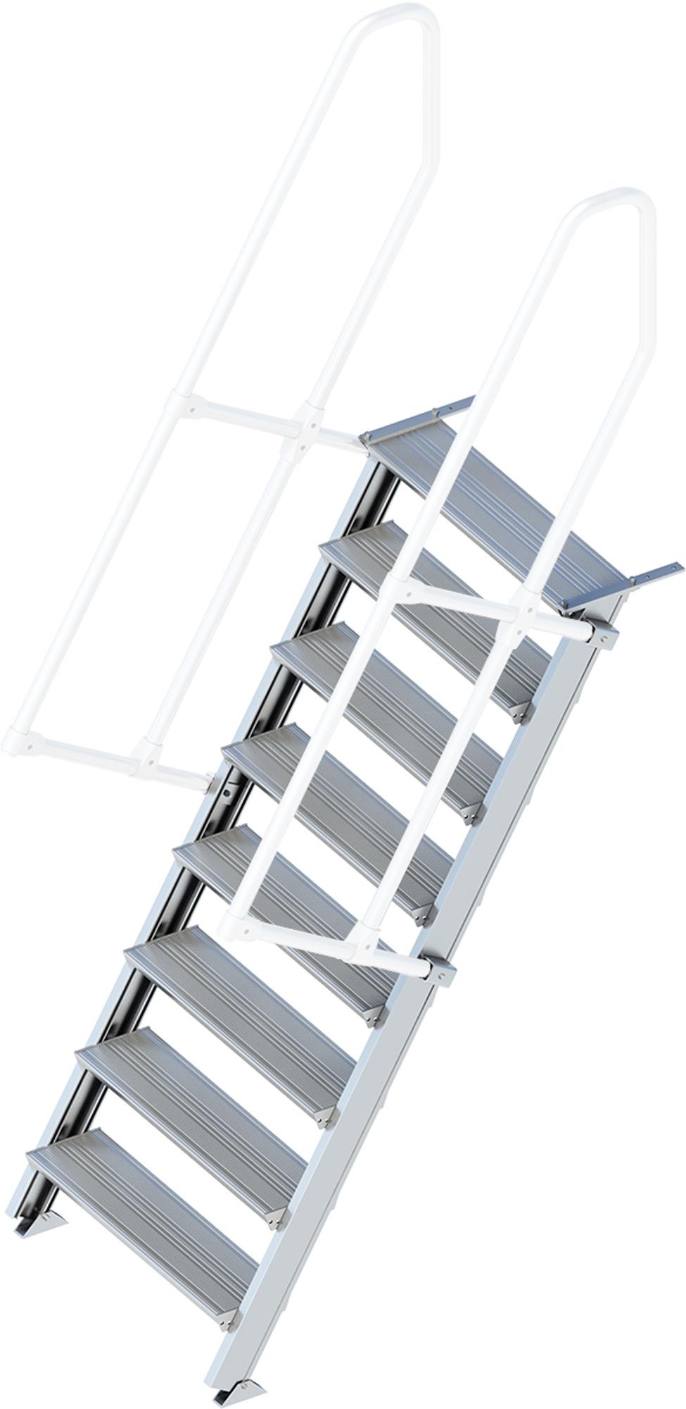 Layher Treppe 60° 8 Stufen - 800 mm breit