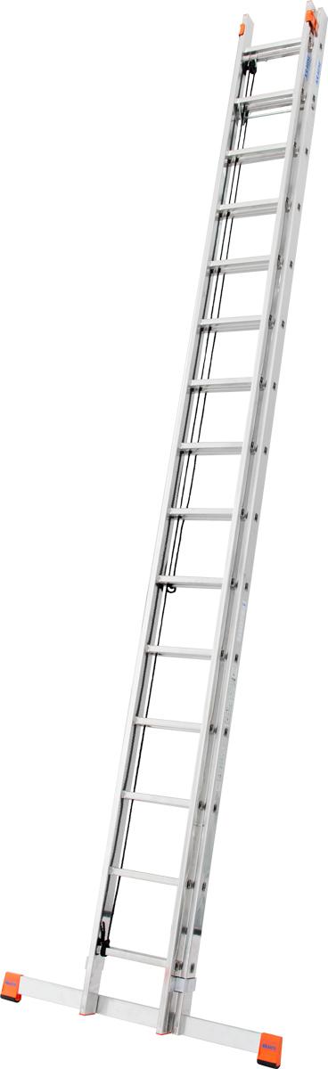 Krause Alu-Sprossenseilzugleiter Robilo® 2x15 Sprossen